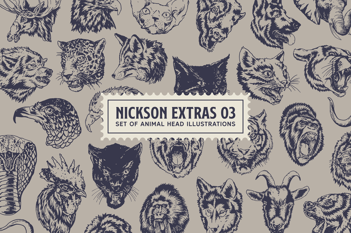 S&S Nickson Font Bundles  example image 6