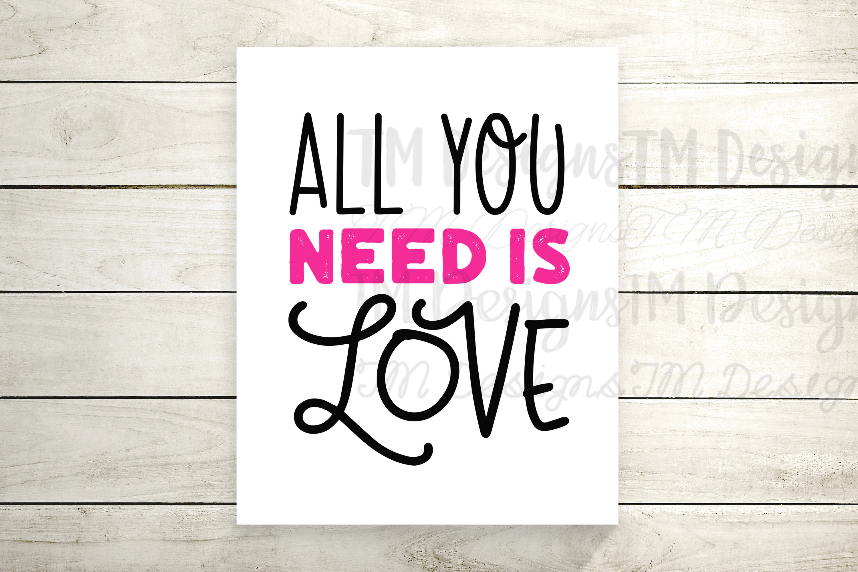 All You Need Is Love example image 2