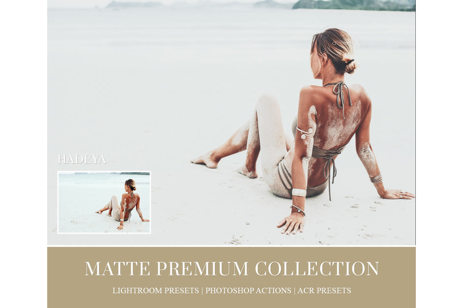 MATTE LIGHTROOM PRESETS, PHOTOSHOP ACTIONS AND ACR PRESETS example image 5