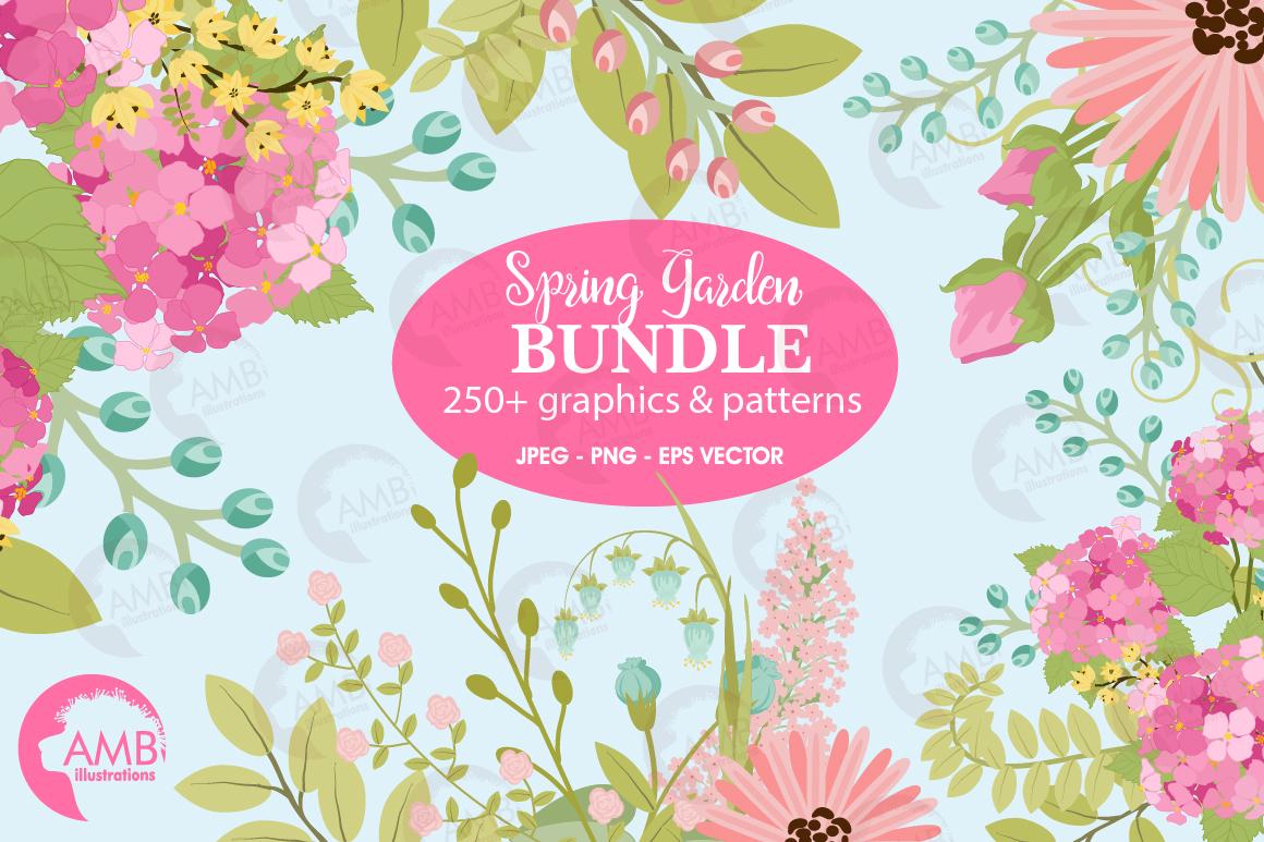 Spring Garden Floral Mega Bundle AMB-2382 example image 1