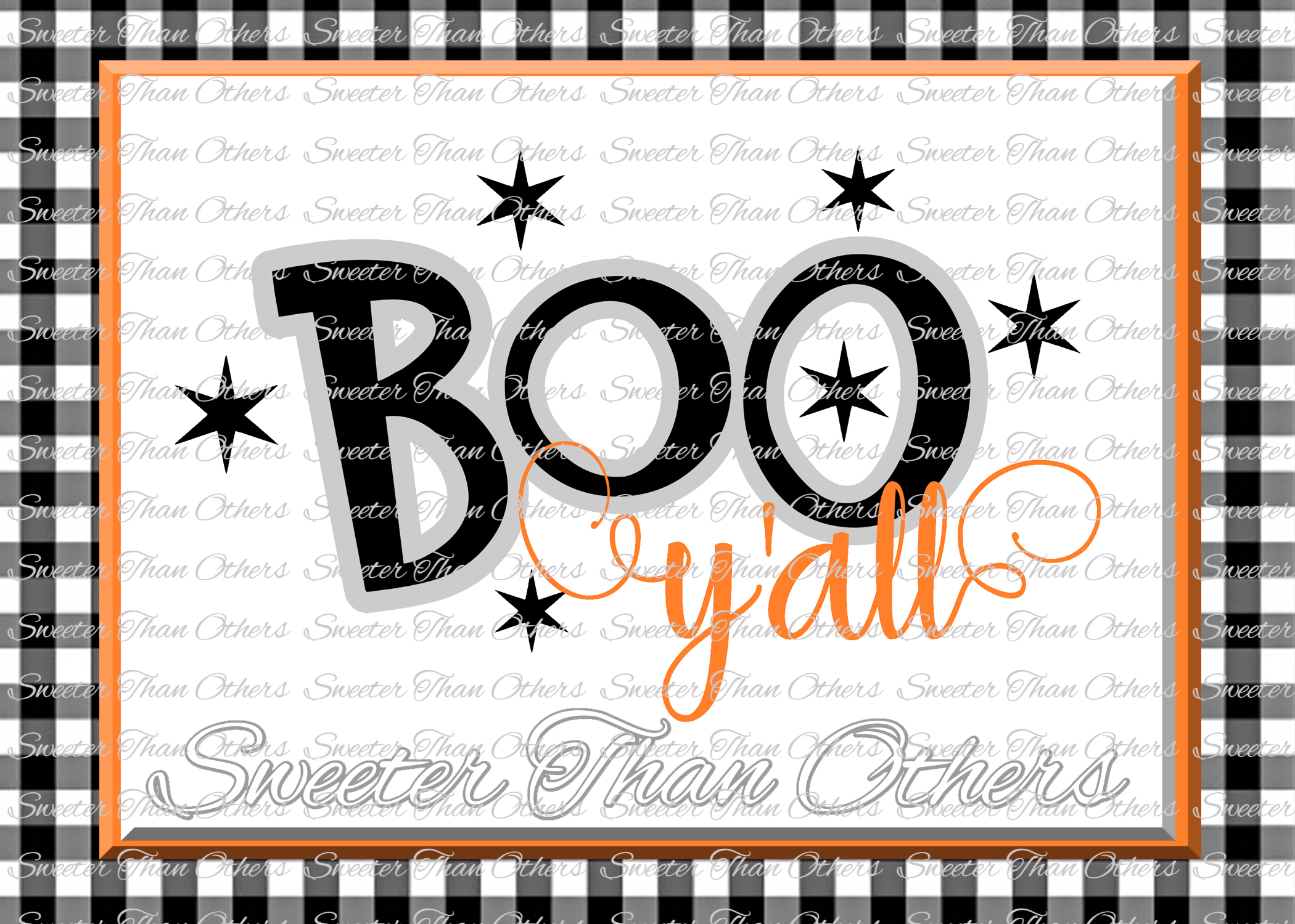 Halloween svg, Boo Yall Svg, Boo Ghost Design example image 1