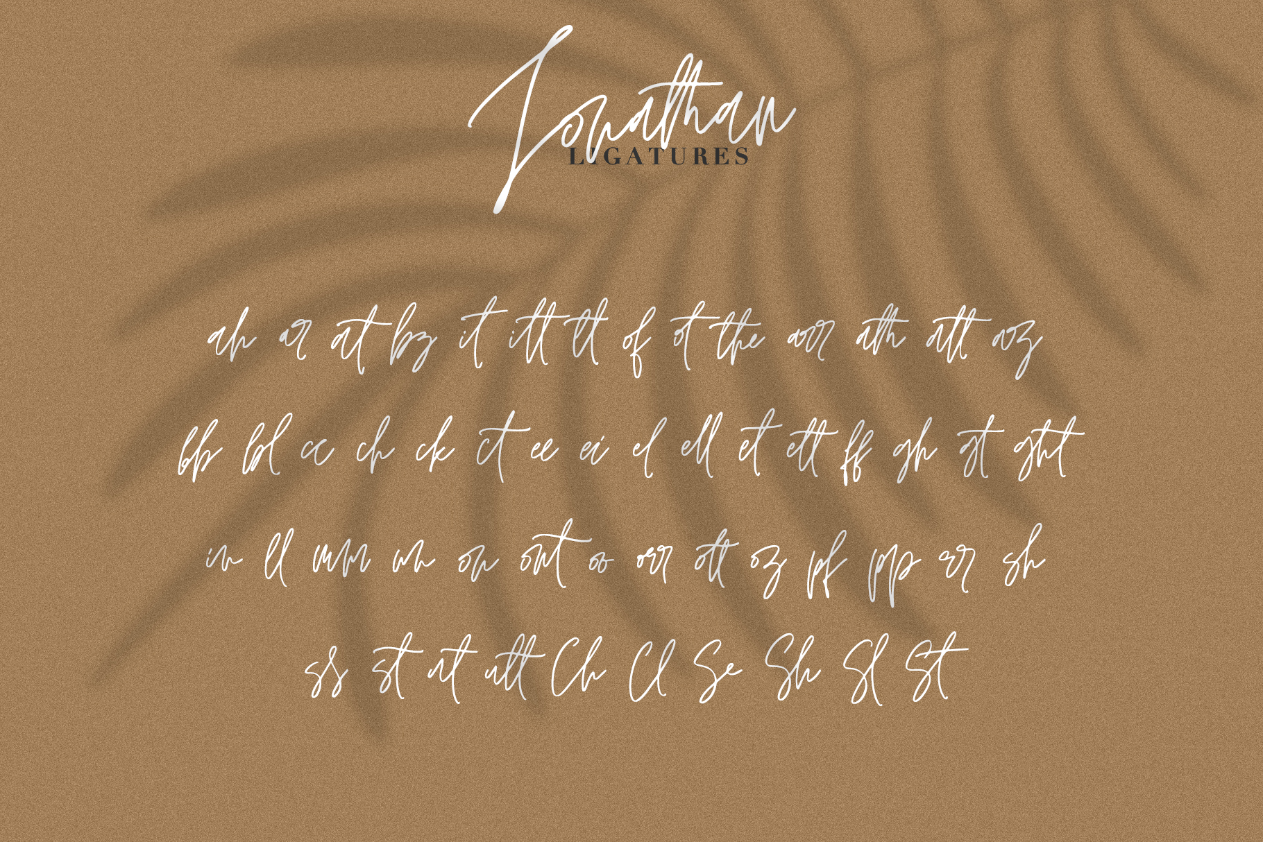JONATHAN SIGNATURE example image 9