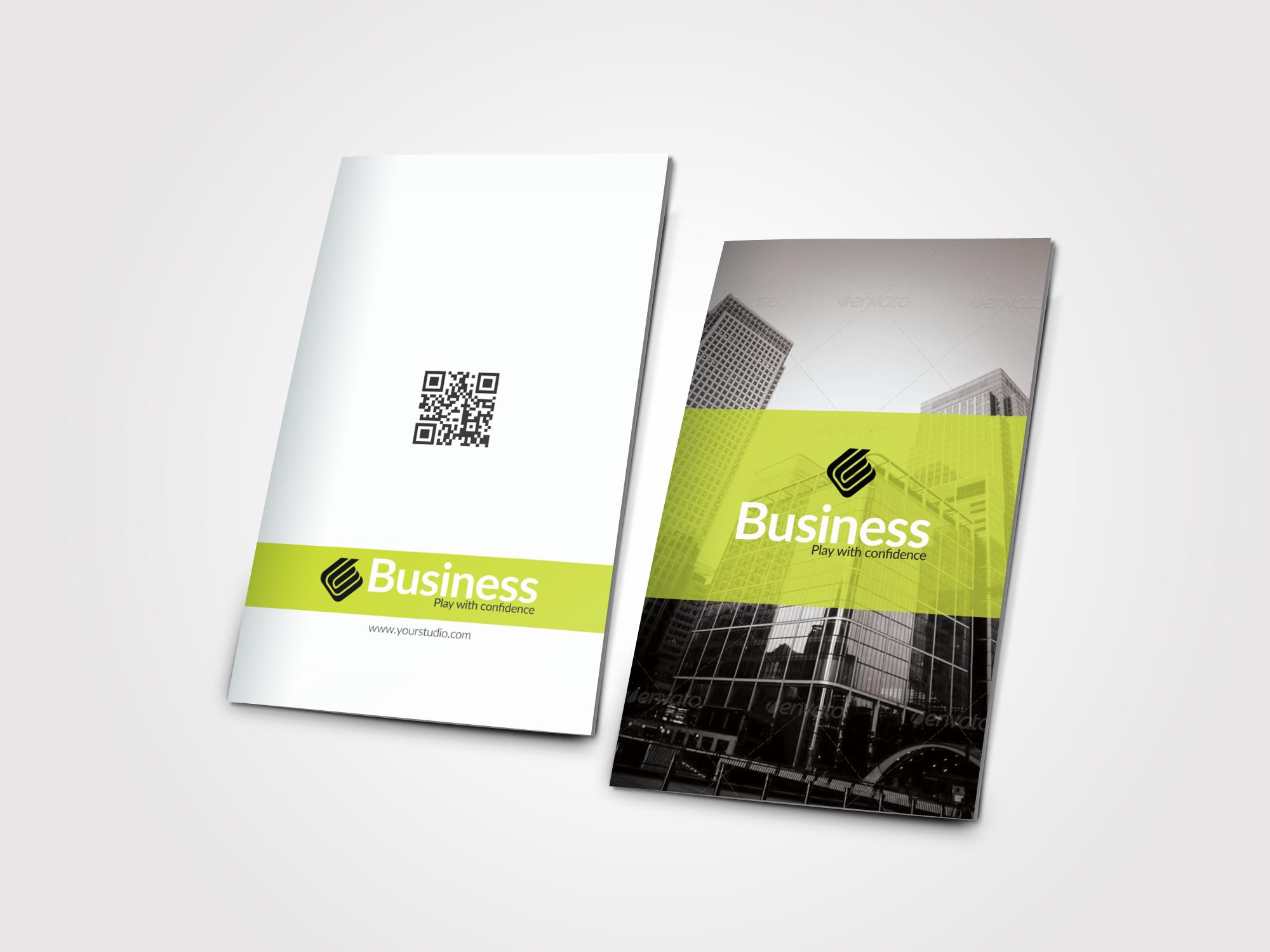 Creative Bifold Business Brochure example image 3
