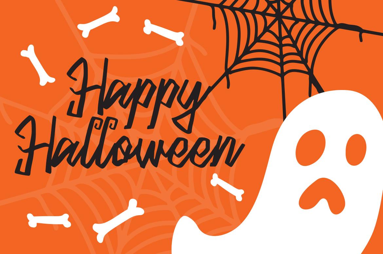Blacky Sambat - Halloween Font example image 3