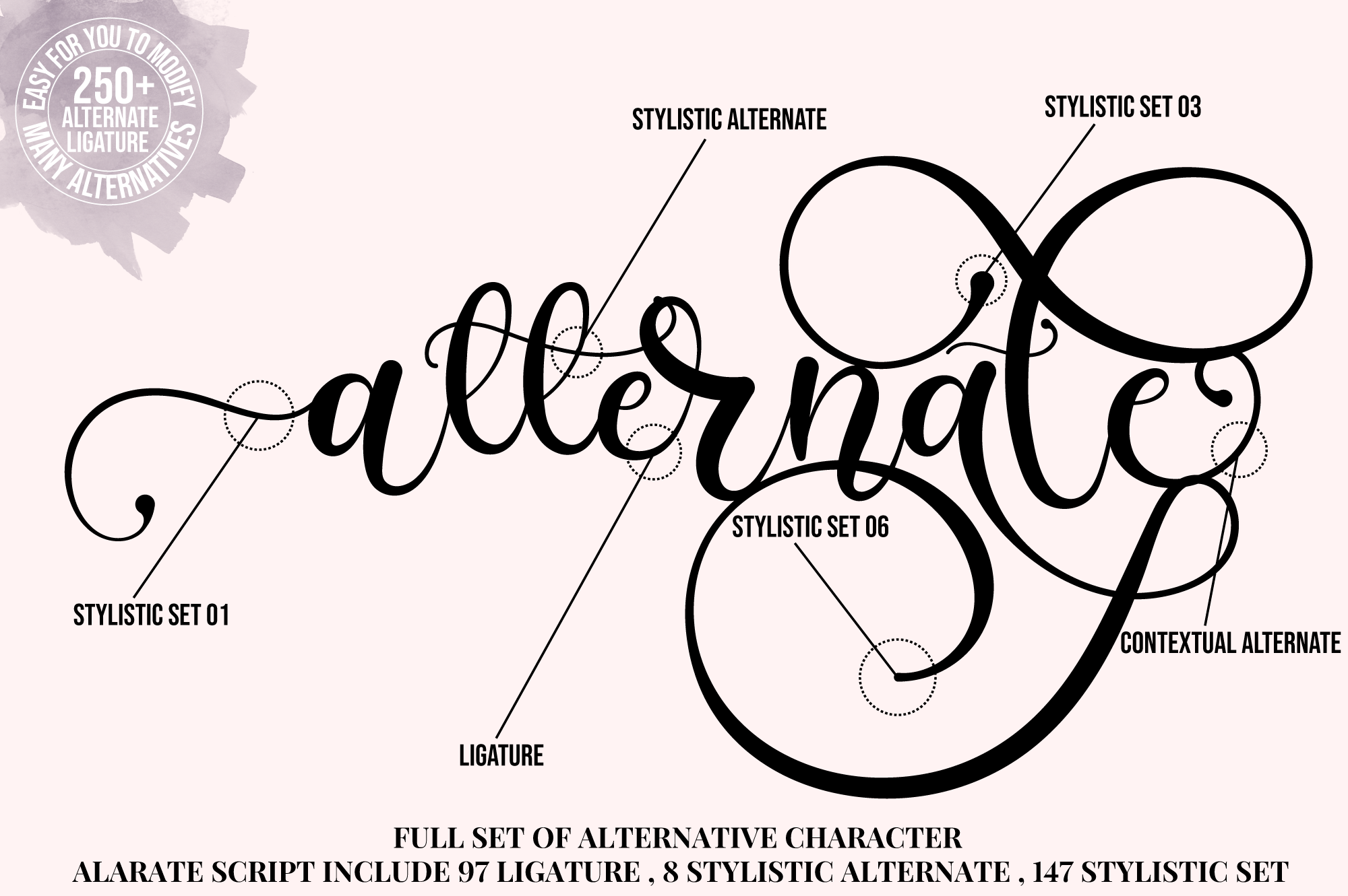 Alarate Script example image 2