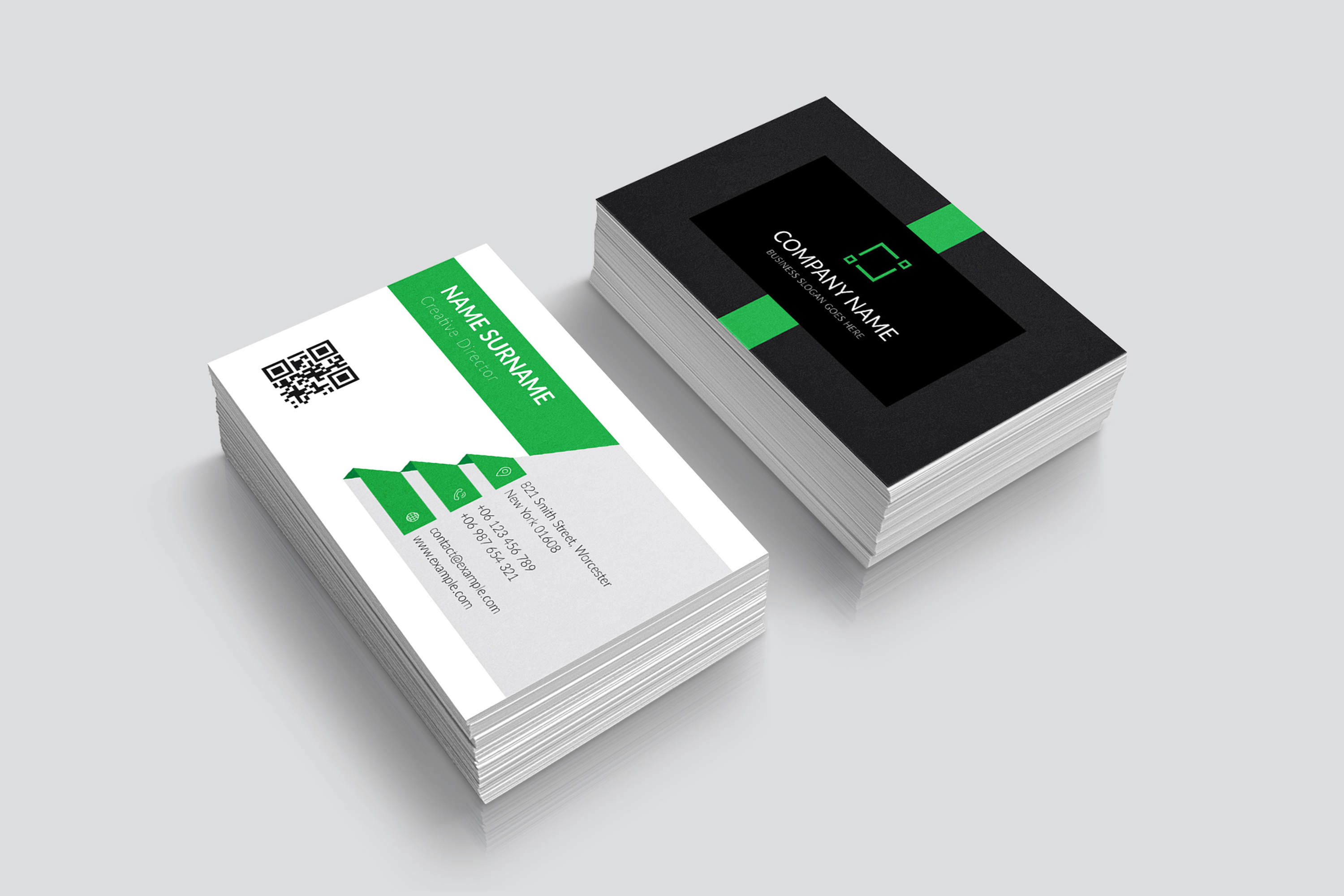 Modern and Elegant Business Card Design example image 3