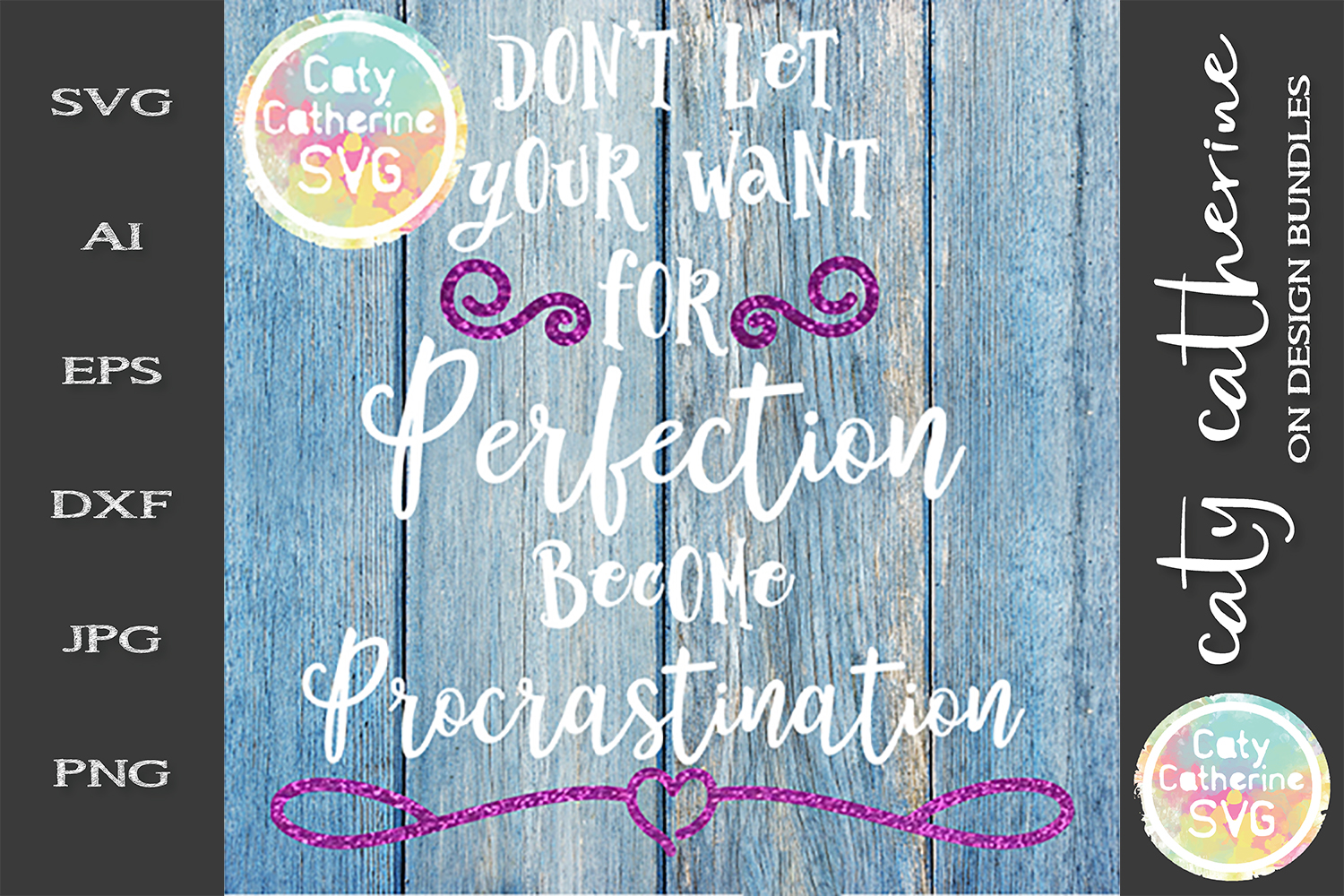 Don't Let Your Want For Perfection Become Procrastination example image 1