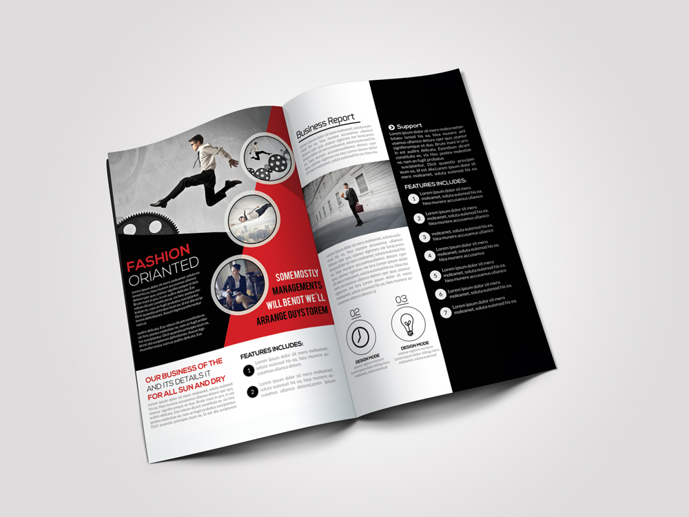 Employment Agency Business Bifold Brochure example image 2