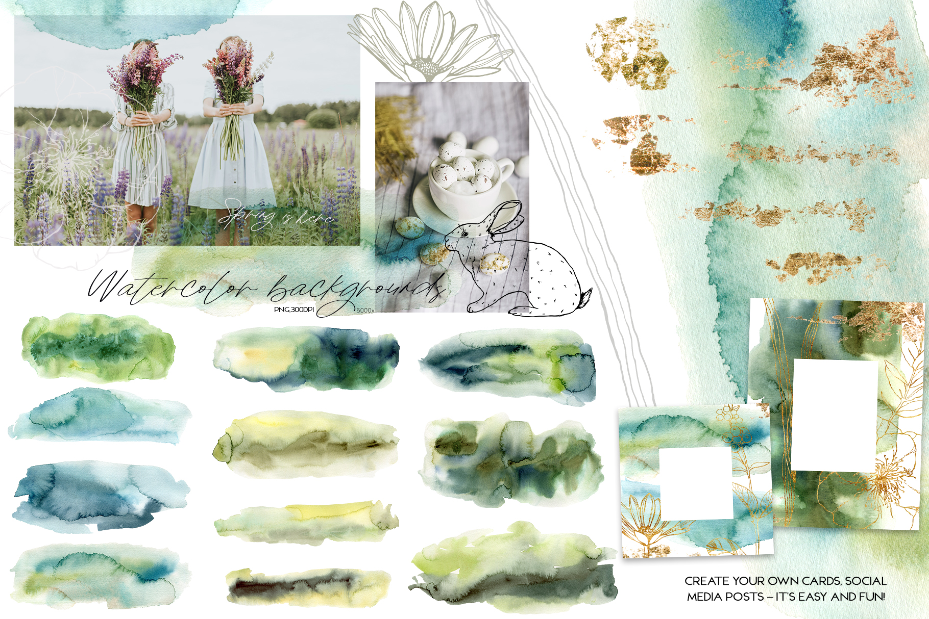 Spring song. Graphic collection example image 13