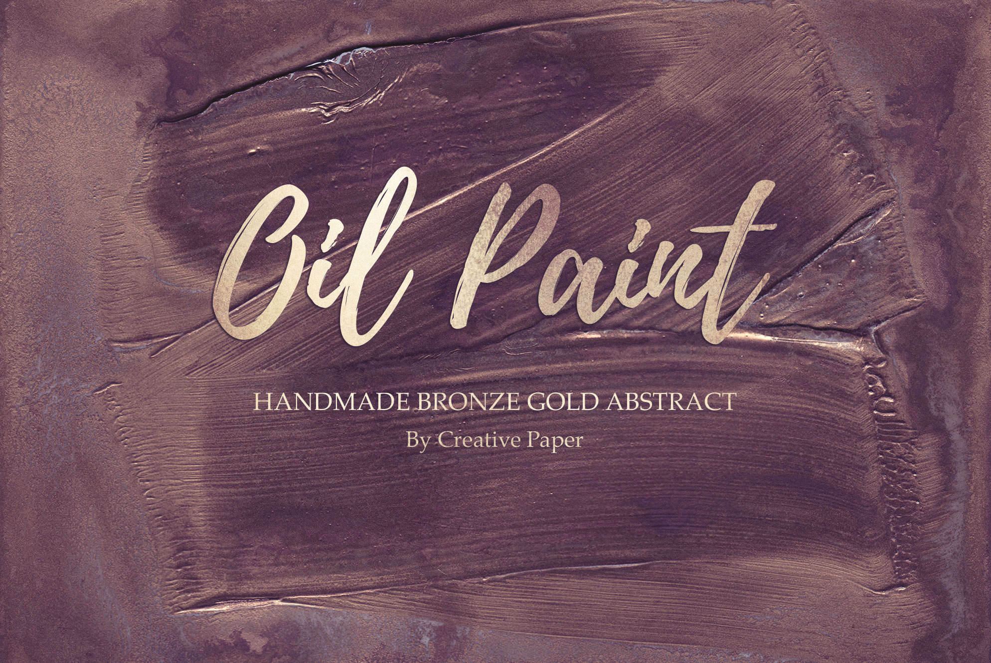Oil Paint and Marble Textures BUNDLE example image 7