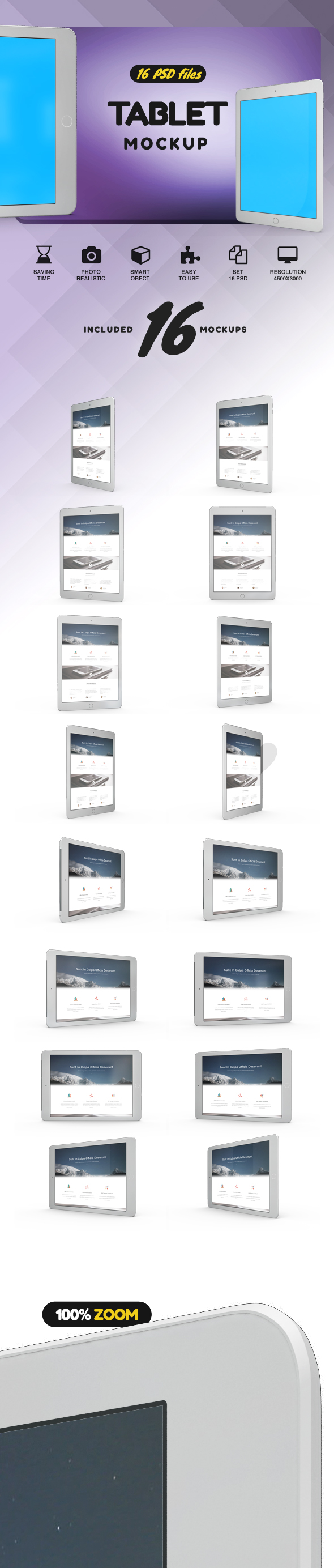 Tablet Mockup example image 2