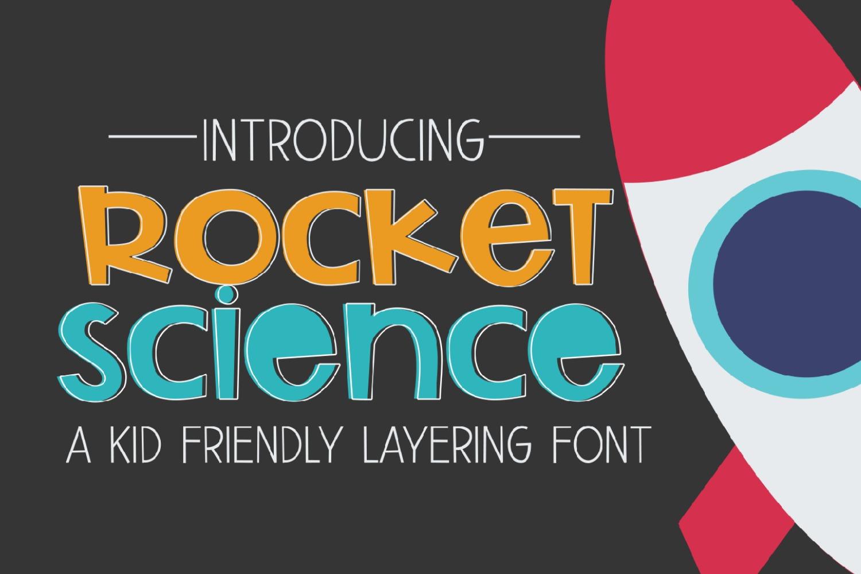 Font Bundle - Super Crafty Kids Cut Friendly Fonts example image 6