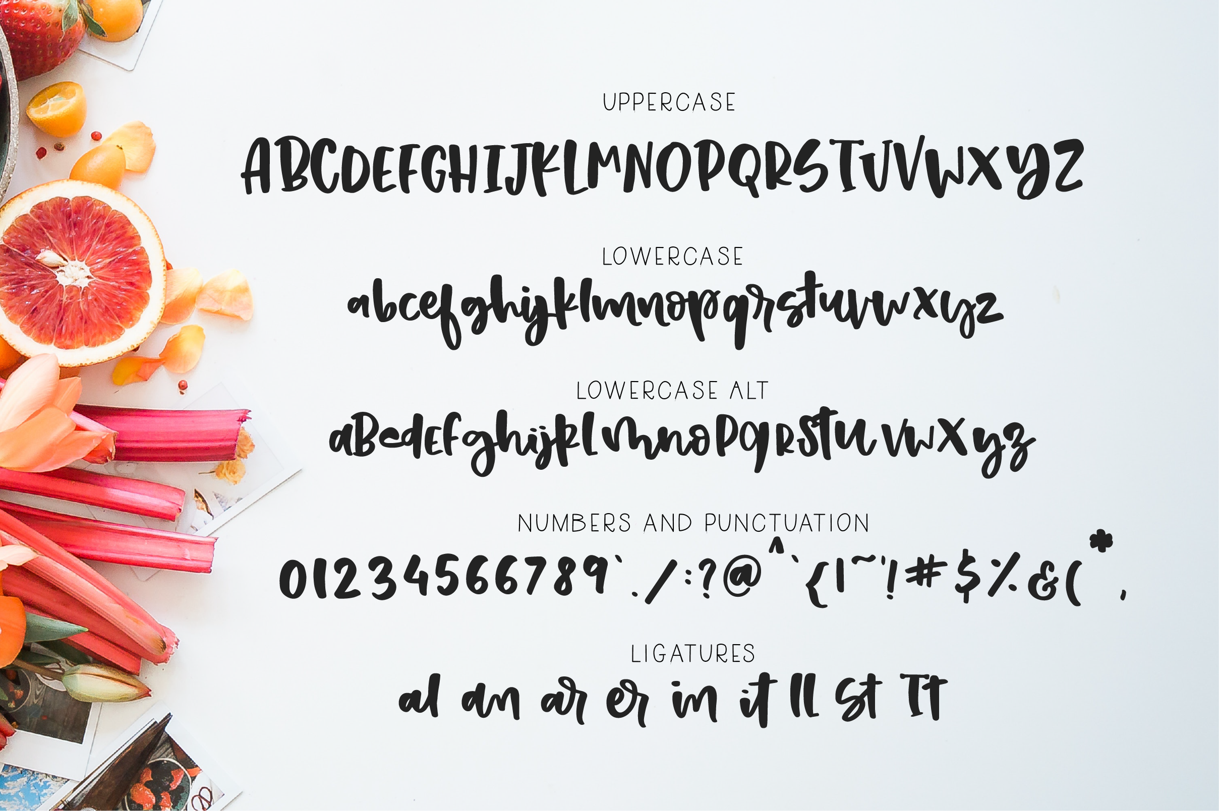 Strawberry shortcake font Extras! example image 11