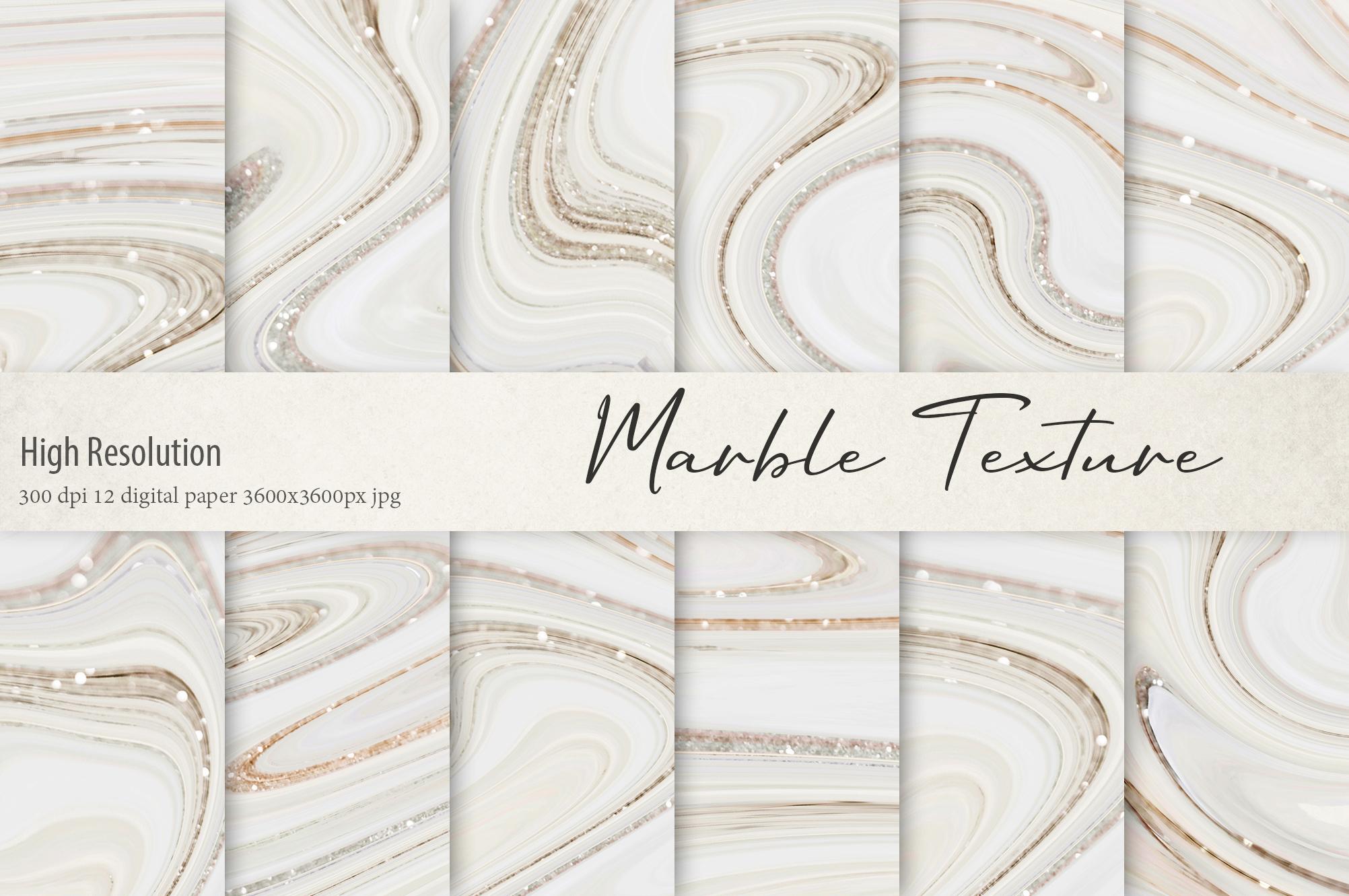 Marble Digital Paper BUNDLE example image 9