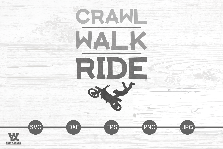 Dirtbike SVG, Crawl Walk Ride example image 3