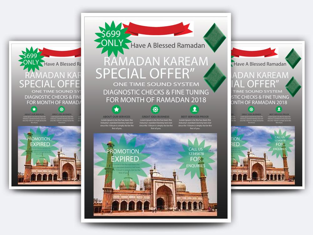 Ramadan kareem Flyer example image 3