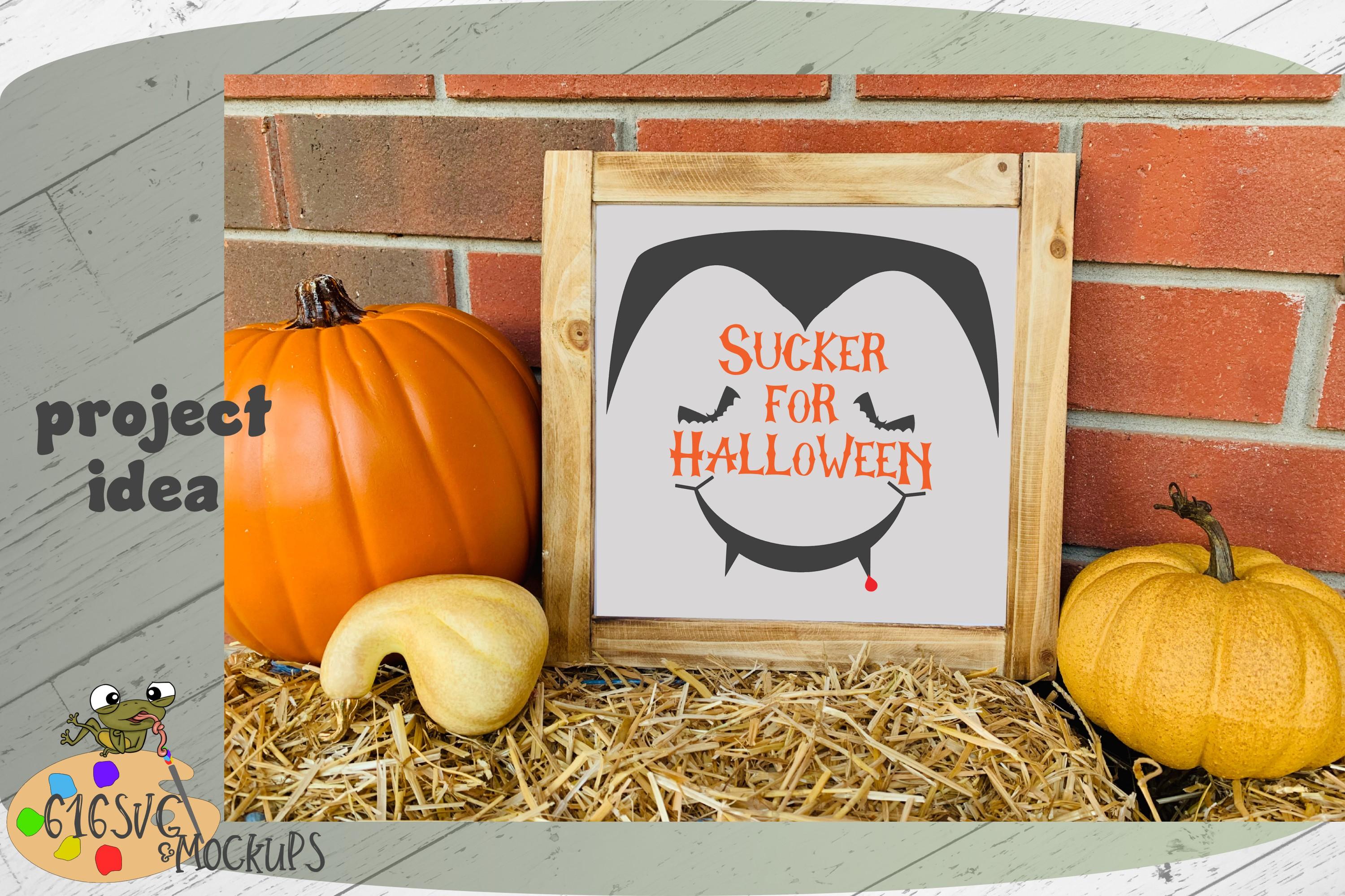 Sucker For Halloween SVG, DXF, Ai, PNG example image 2