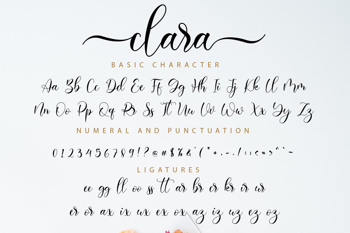 Clara Script example image 11