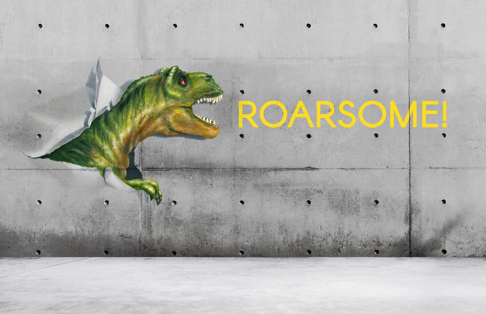Dinosaurs Misbehaving- RoarsomeT-Rex example image 13
