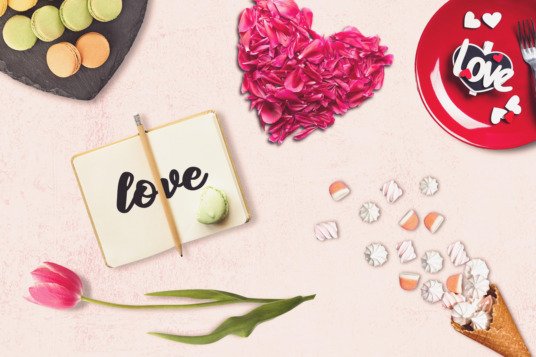 Valentine Note Mock-up #1 example image 1
