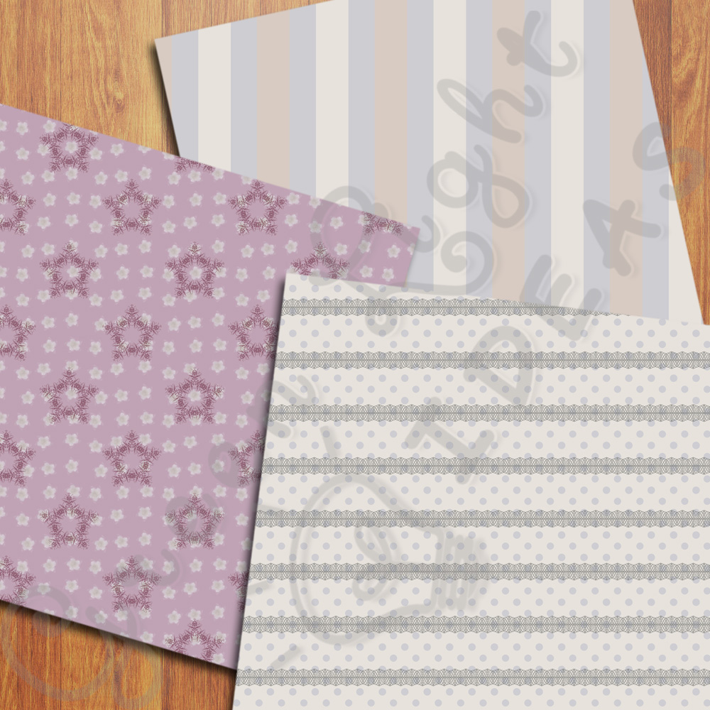 Shabby Digital Papers example image 5