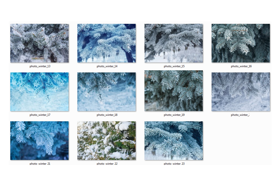 Winter Photo Pack example image 4