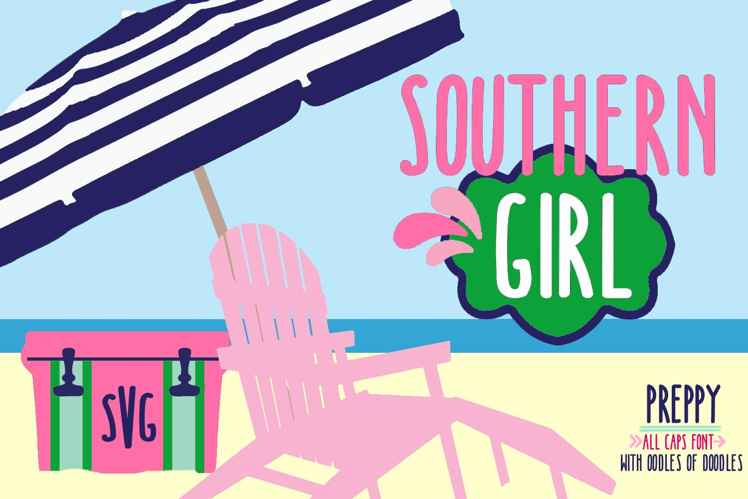 Southern Girl Font example image 1