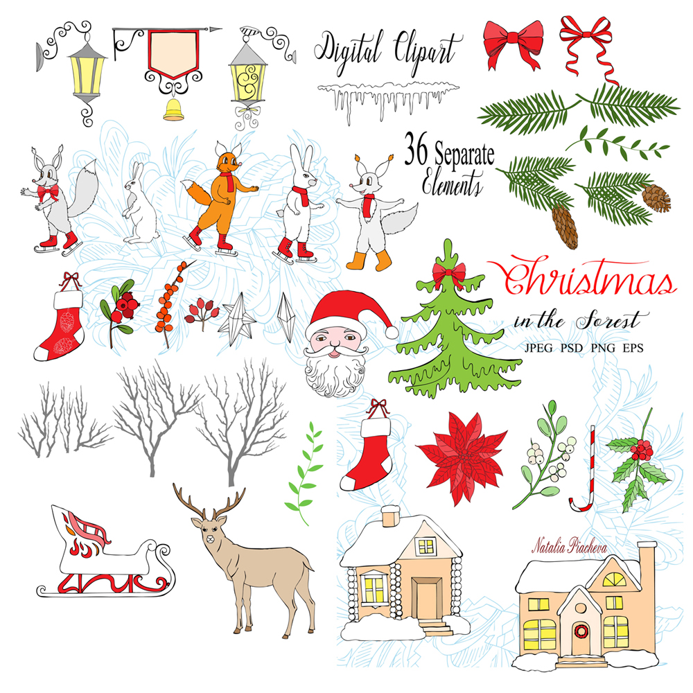 Christmas in the Forest example image 2