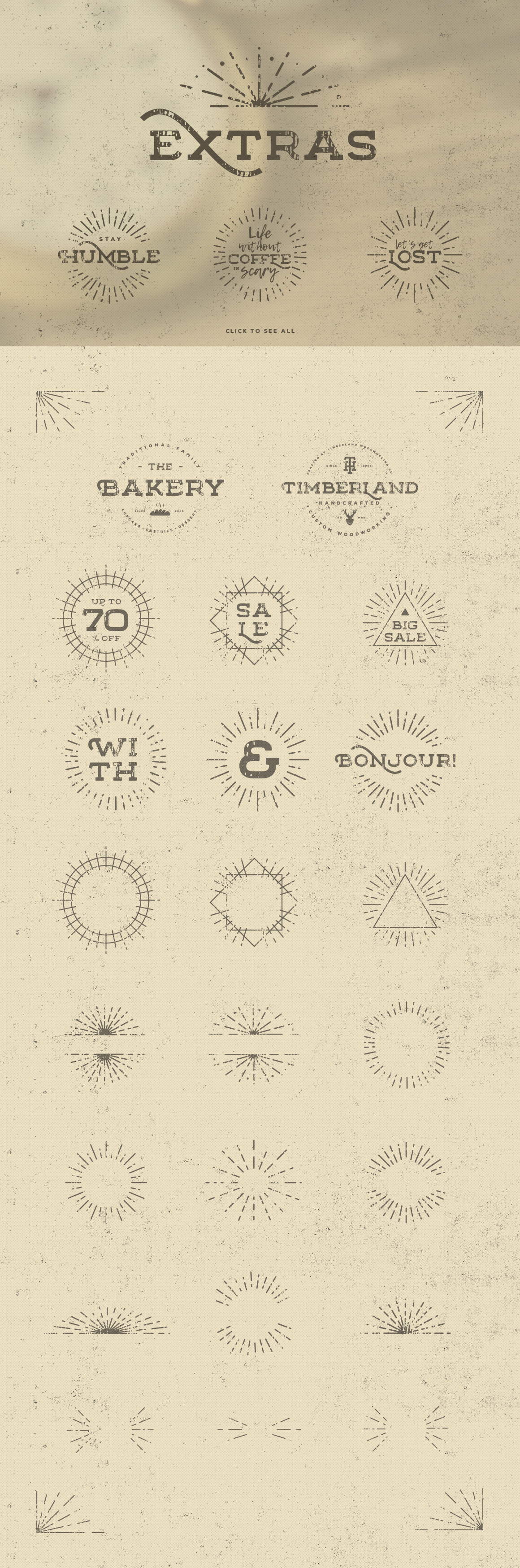 Floure Typeface + Extras example image 11
