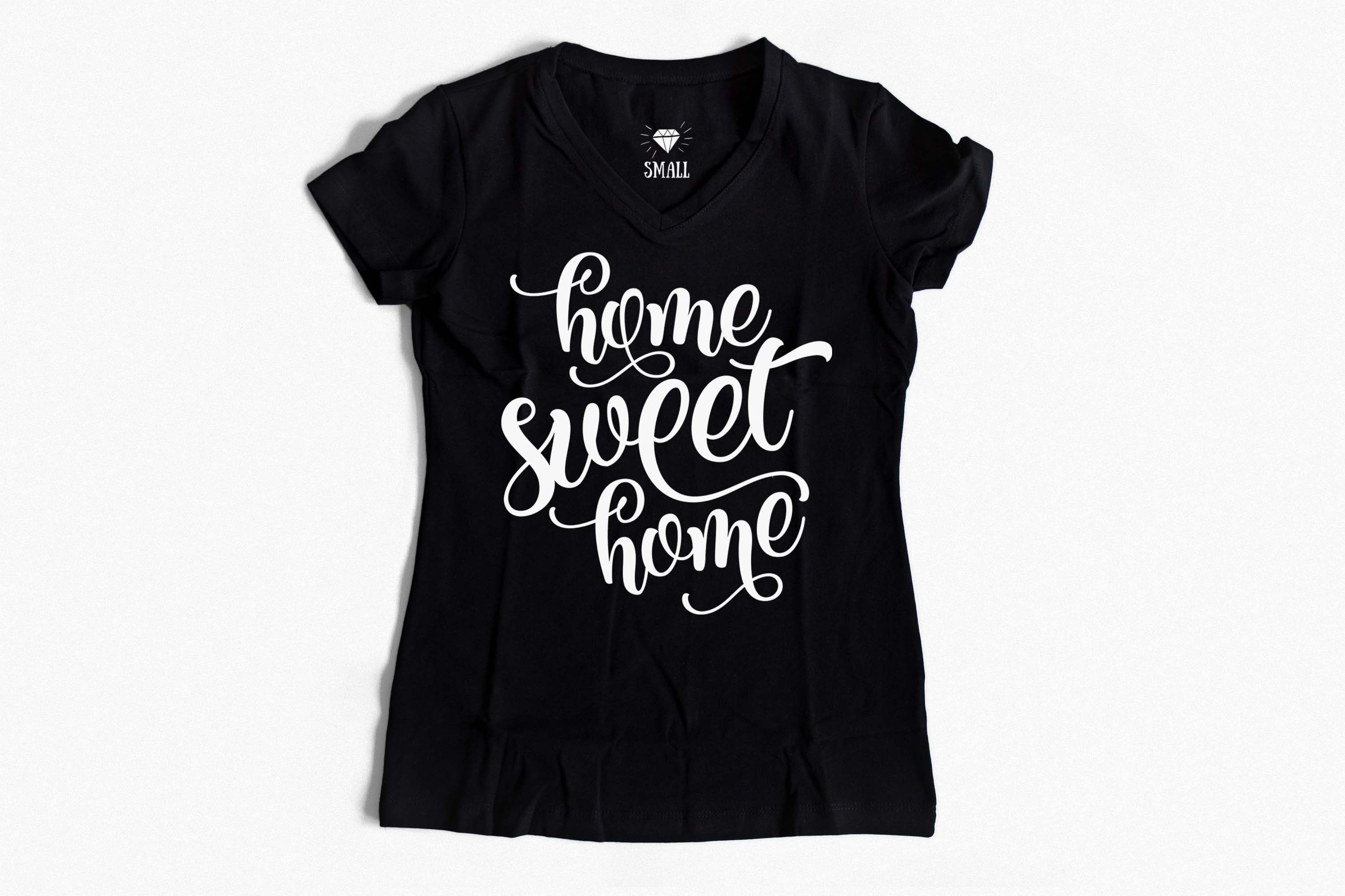 Home sweet home SVG PNG EPS DXF, Home SVG example image 3