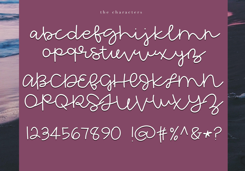 Extraordinary - Handwritten Script Font example image 5