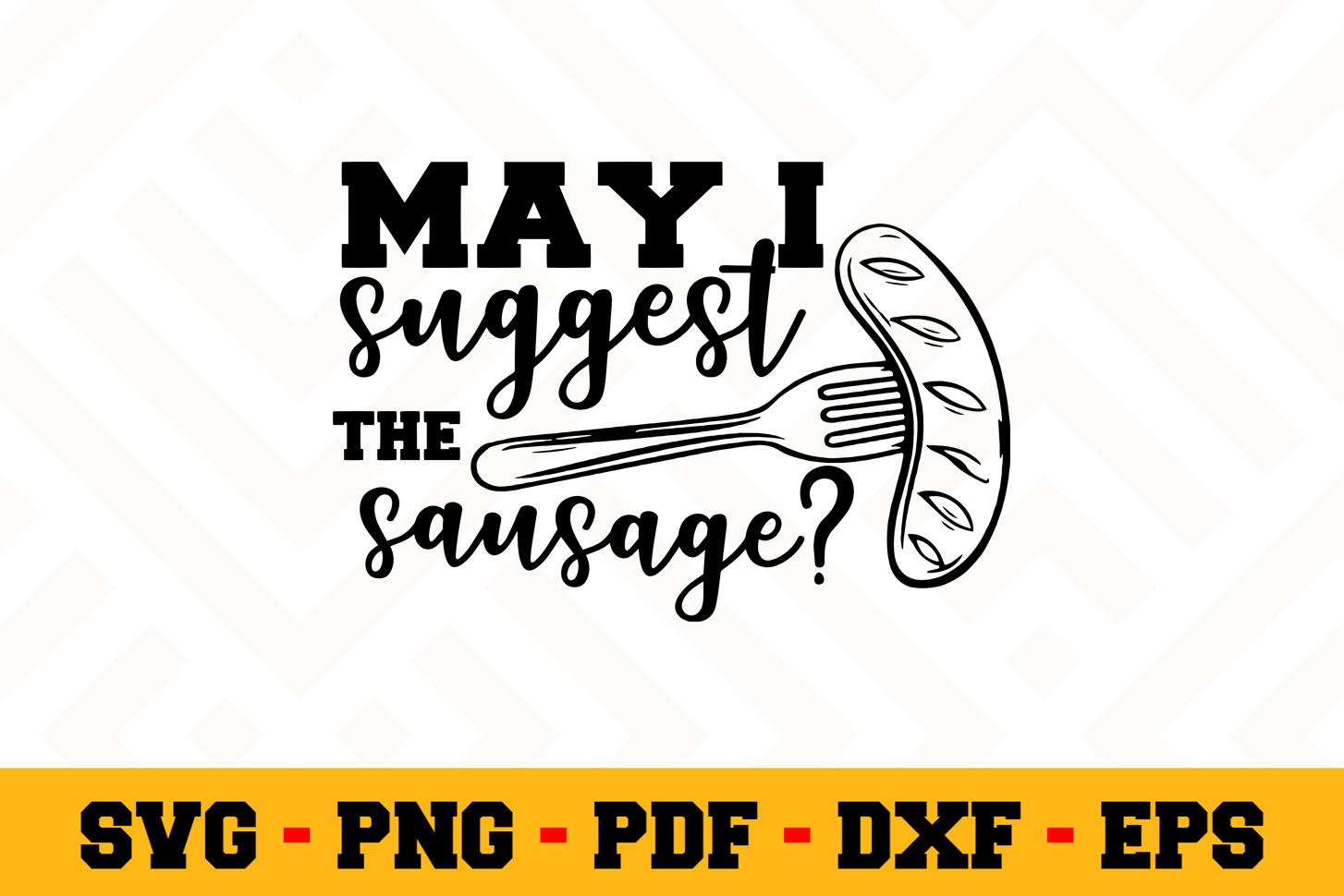 BBQ SVG Design n603   Barbecue Grill SVG Cut File example image 1