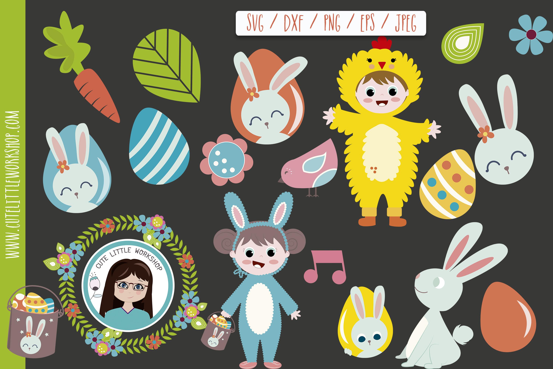 Svg Easter Bundle svg, dxf, png, eps example image 8
