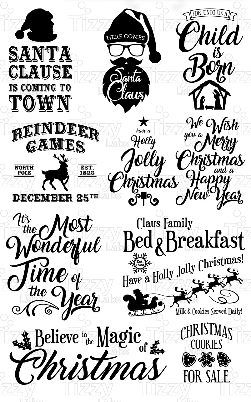 Download Christmas Bundle 2 SVG Files - Svg Files for Cricut ...