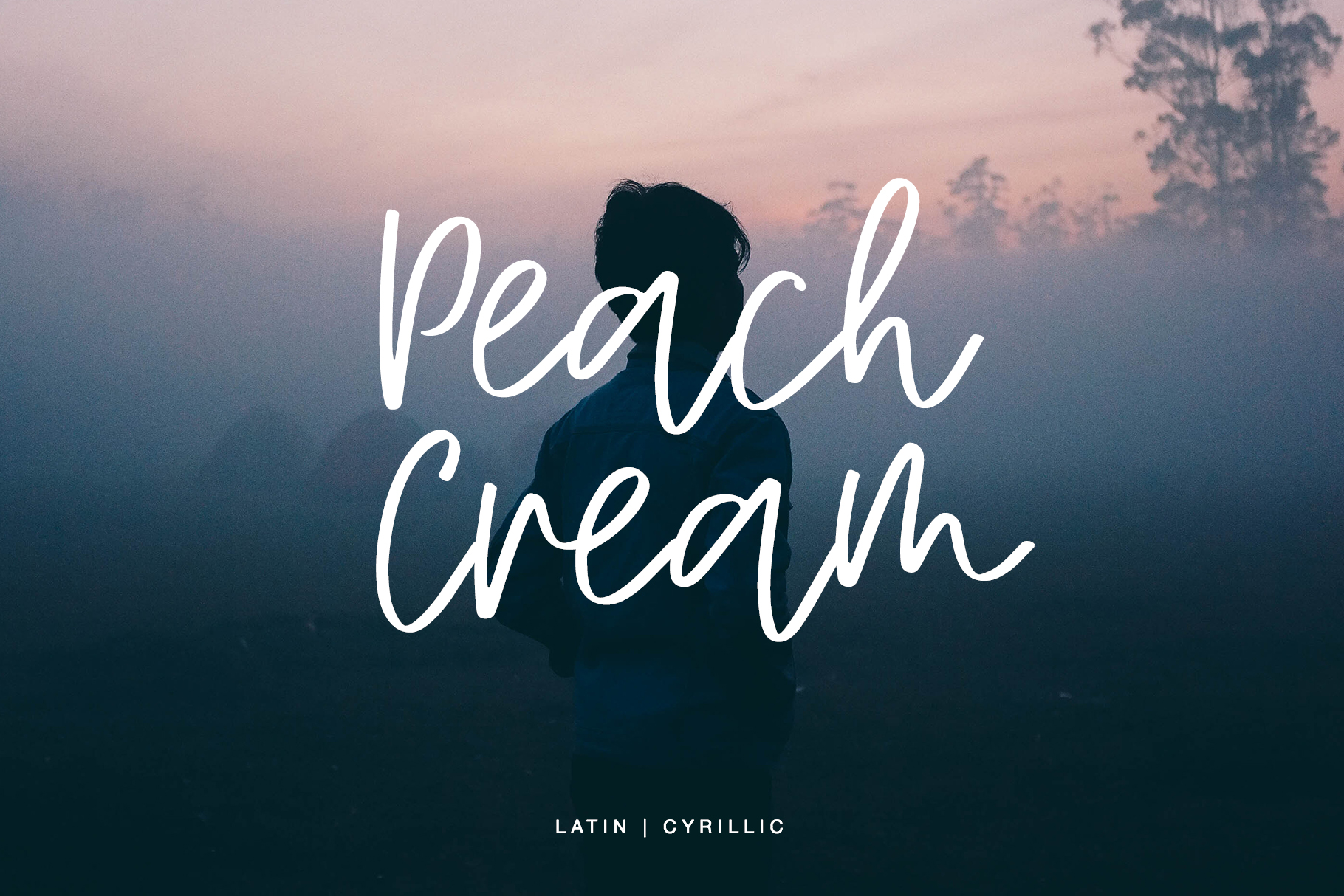 Peach Cream Latin & Cyrillic example image 8
