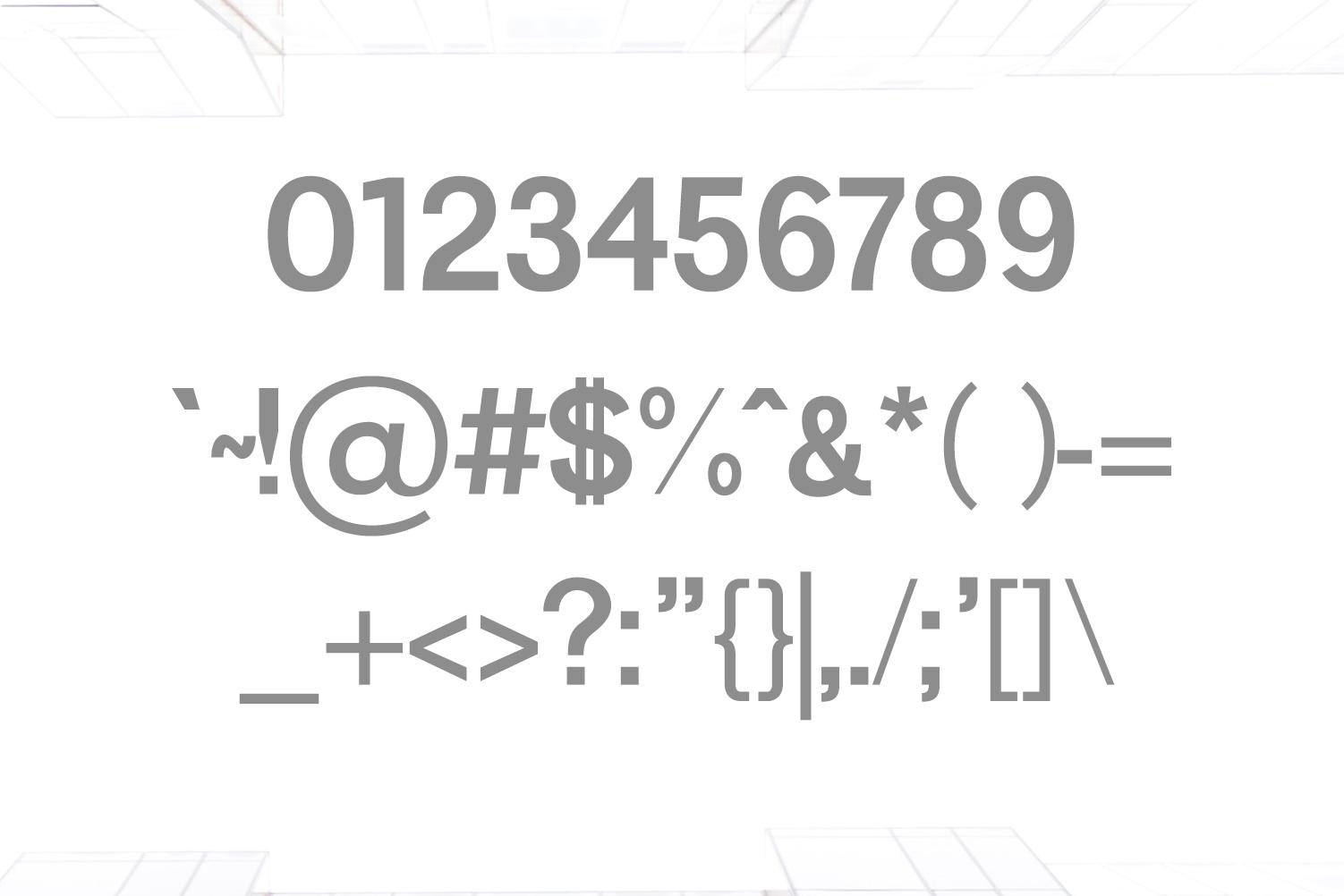 Yahir Sans Serif Font Family example image 3