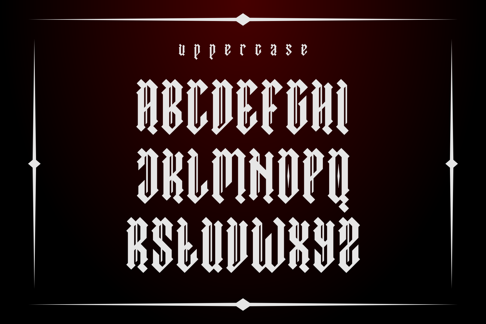 Asmodeus - Blackletter example image 2