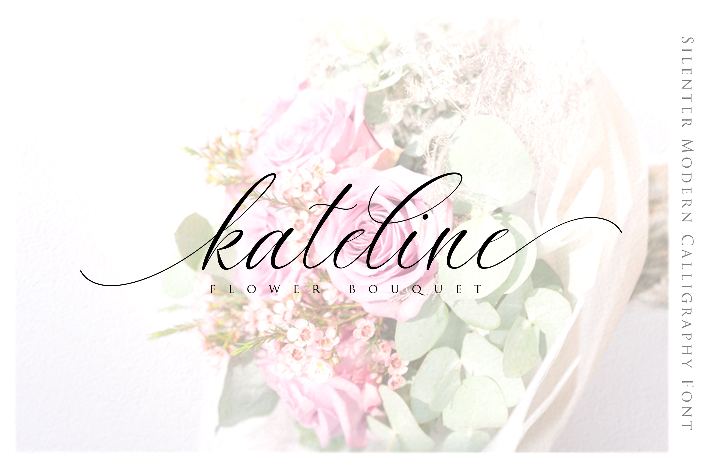 Silenter / Modern Calligraphy Font example image 6