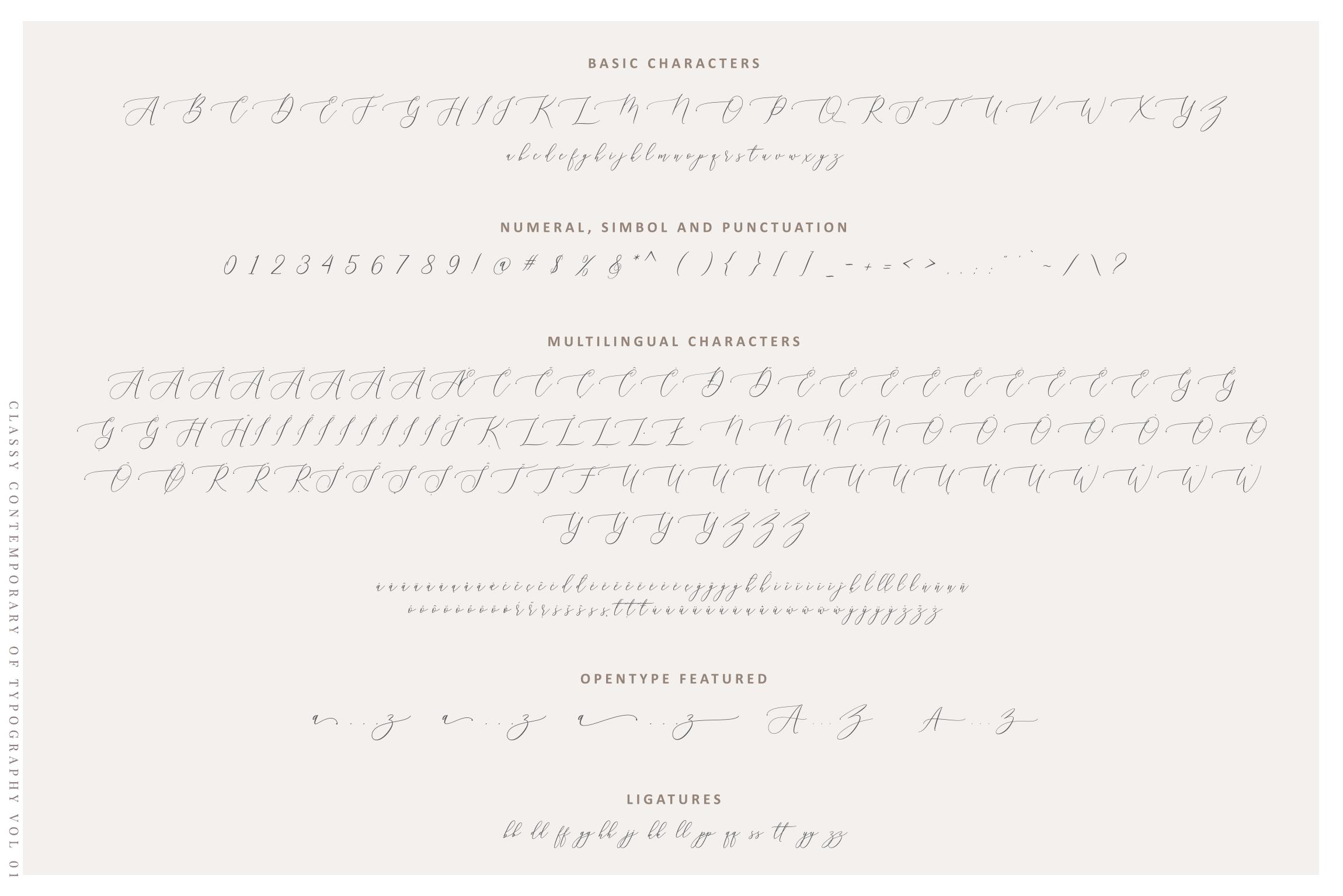 Aurellia Script Classy Fonts example image 6