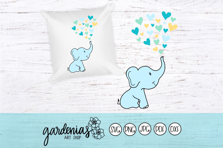 Baby Elephant Hearts example image 1