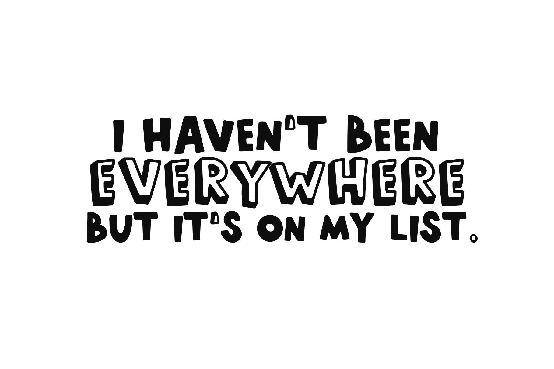 World Traveler - A Quirky Handwritten Font example image 6