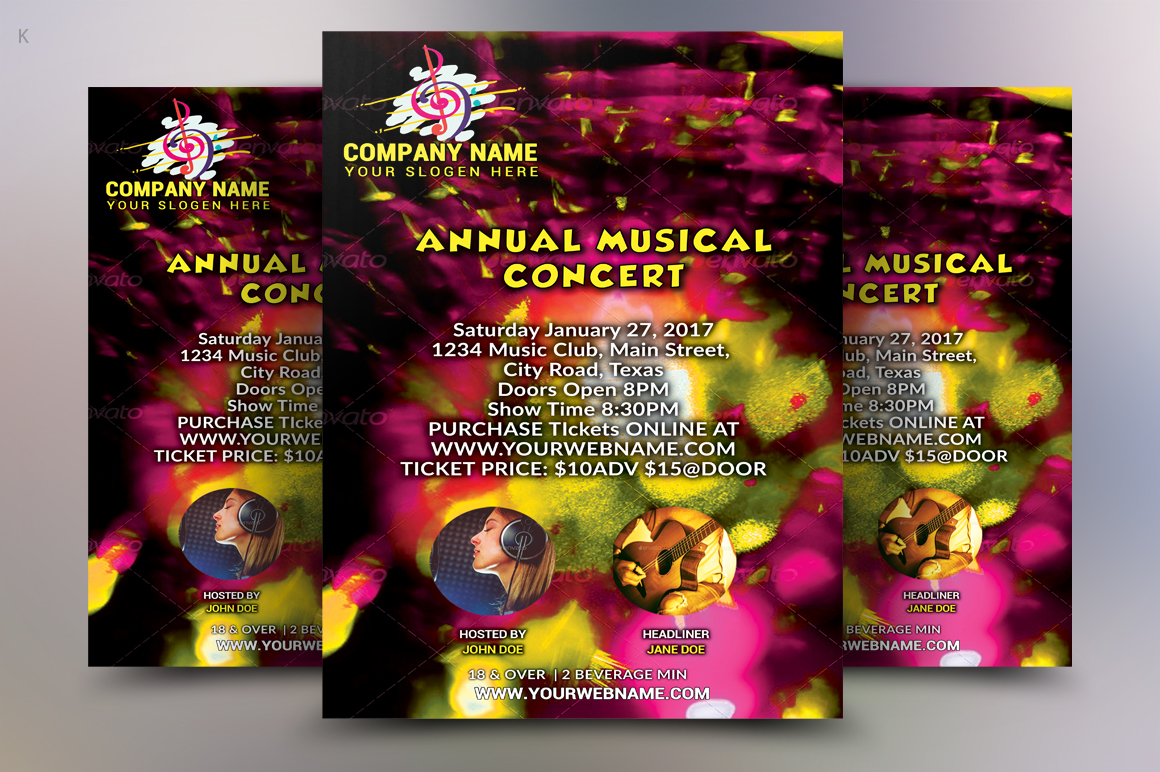 Music Concert Flyer example image 3