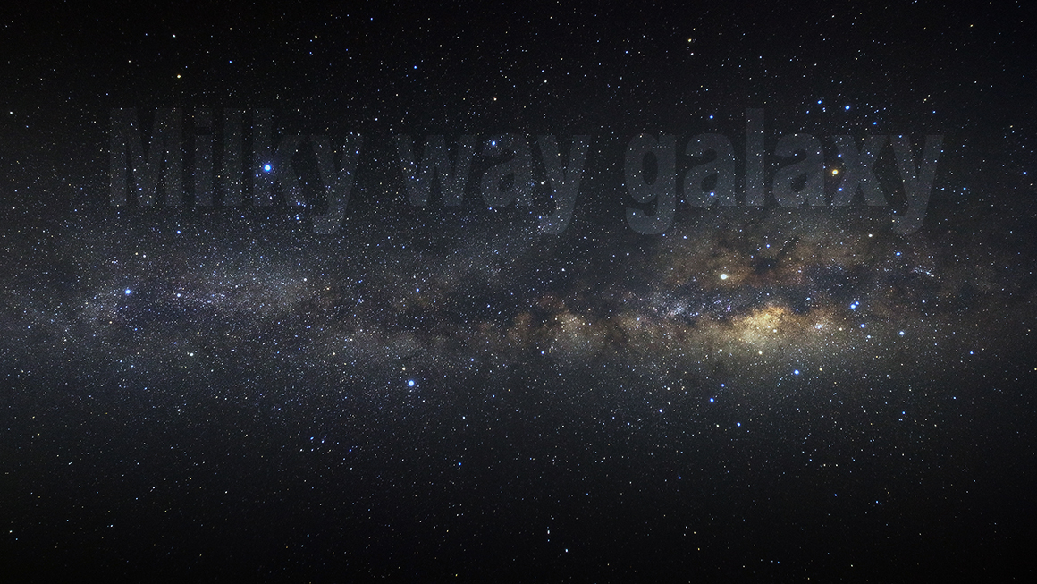 Panorama milky way galaxy example image 1