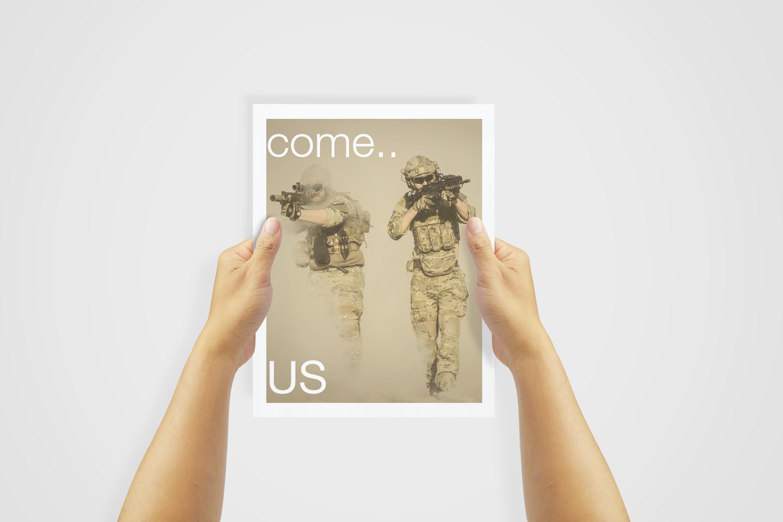 US Letter Flyer / Poster Mockups example image 3