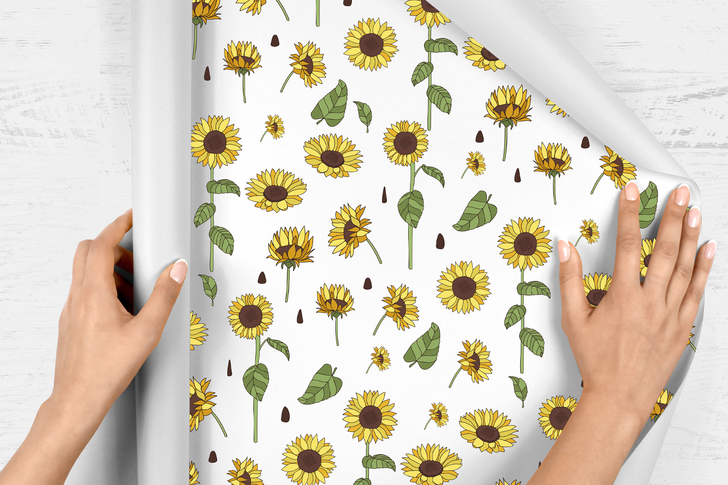 20 Sunflower Clipart Elements example image 4