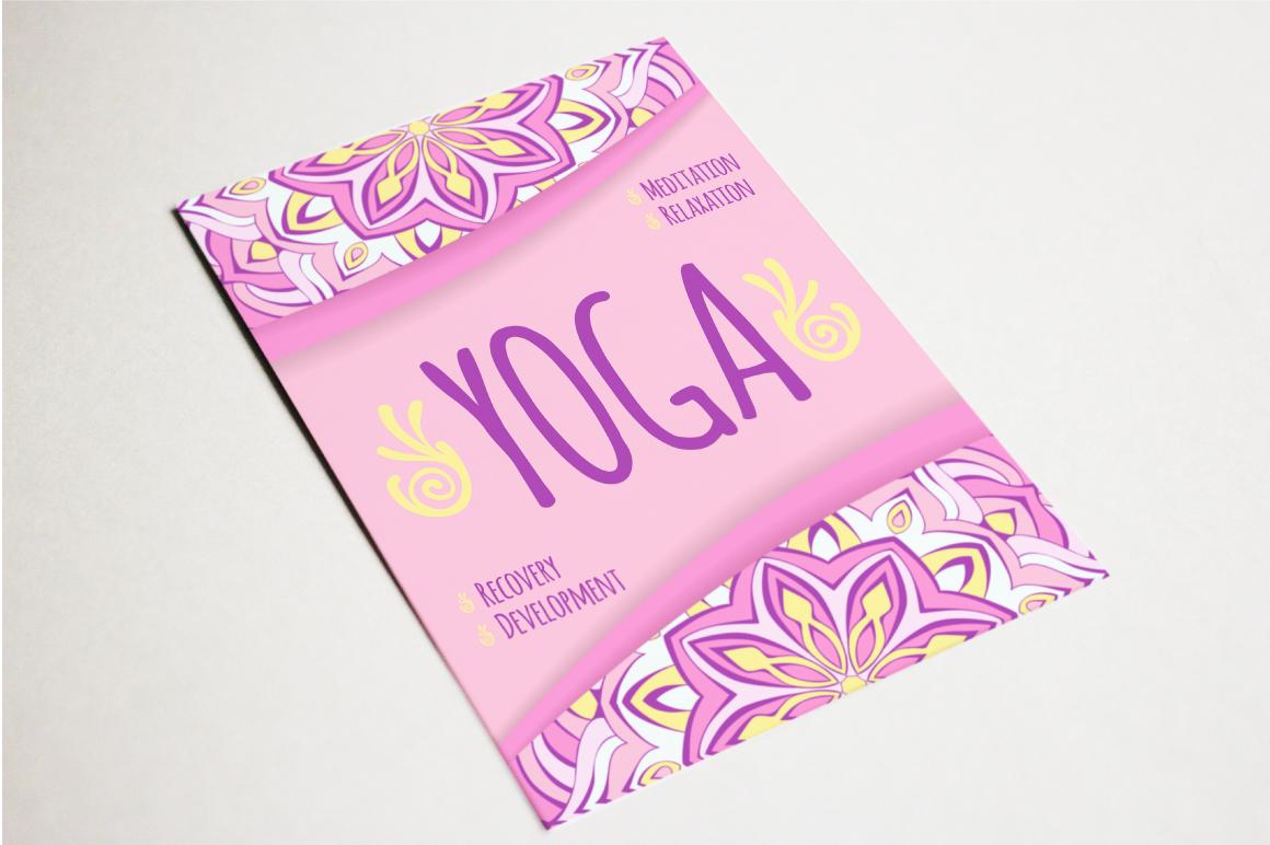 Yoga leaflets example image 2