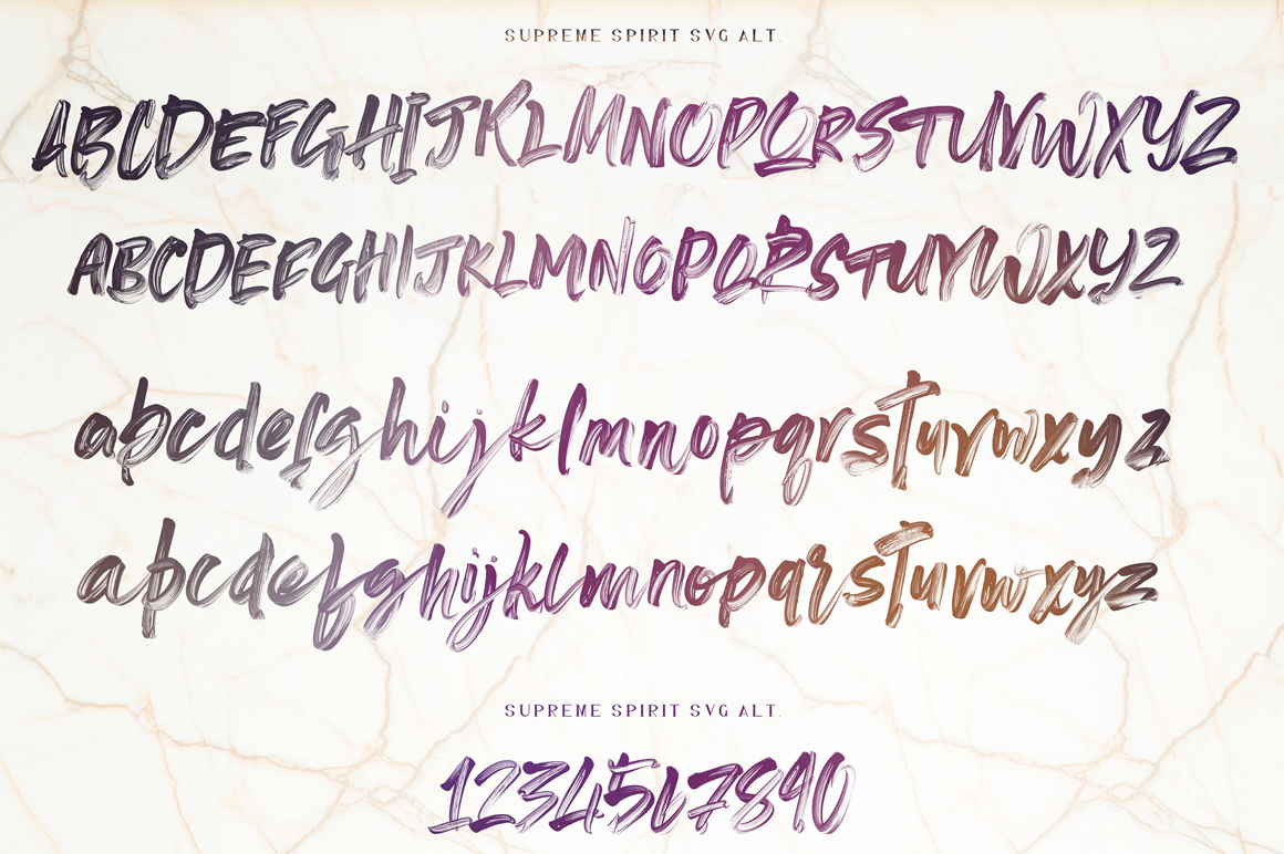 Supreme Spirit Fonts and SVG example image 27