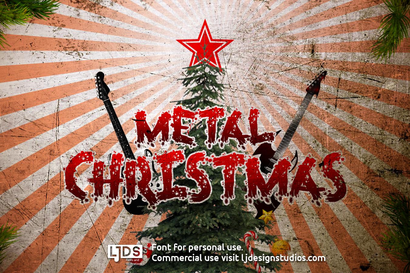 Metal Christmas example image 1