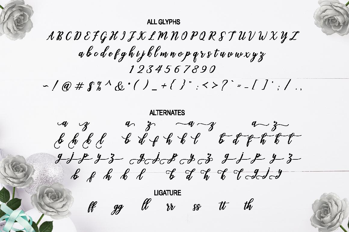 Challista Script example image 7