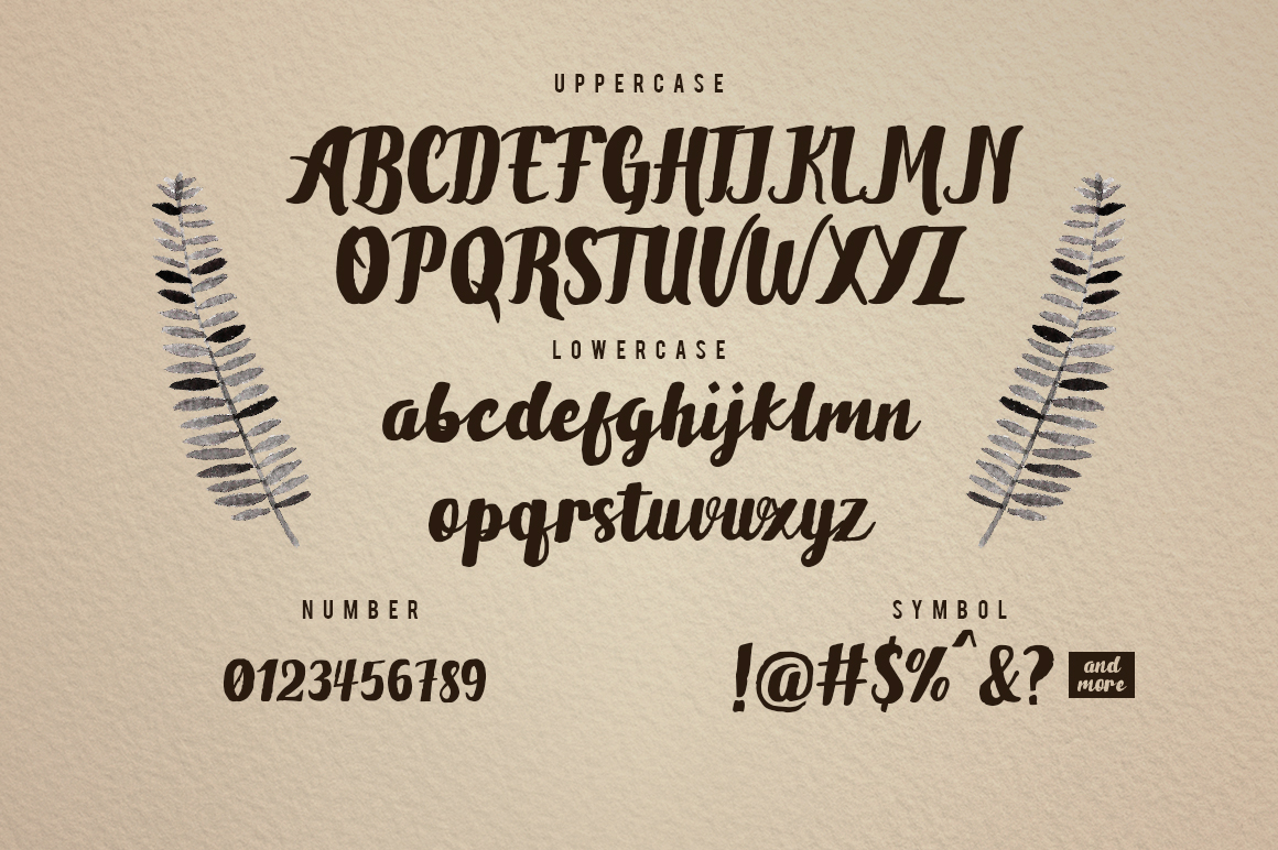 Brownies Typeface example image 2